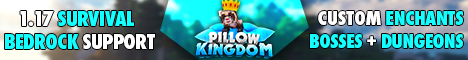 Pillow Kingdom [Bedrock Support] [Survival 1.17.1]