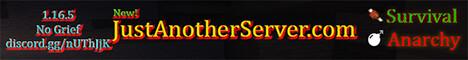 JustAnotherServer.com | Survival, Anarchy, Creative 1.16.5