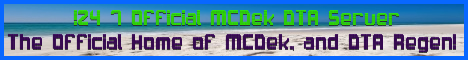 !24/7 Official MCDek-DTA Server