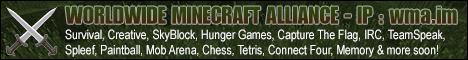 [AU] [1.9] The Worldwide Minecraft Alliance [Survival/Creative/SkyBlock/SkyGrid]