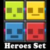 2 Heroes Set