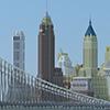 New York in Minecraft.