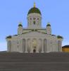 Helsinki in Minecraft
