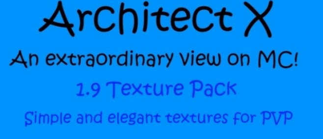 Popular Texture Pack : Simple PVP Texture Pack by ArchitectX