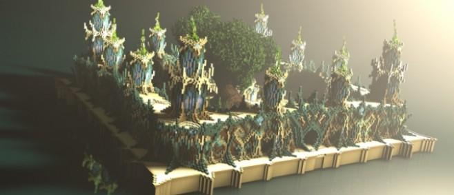 Popular Project : Aquamarine Dance- Factions Spawn for minewars.eu by RebirthOfShien