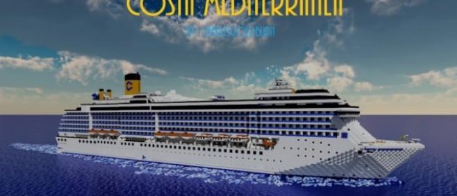 Popular Project : Costa Mediterranea 1:1 Scale Cruise Ship [+Download] by CharlesGoldburn