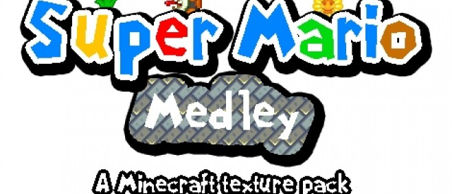 Popular Texture Pack : Super Mario Medley For 1.8 by -CSolarstorm-
