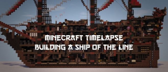 Popular Blog Post : ~{ 300 sub special }~ Timelapse: building a ship of the line by Desdruktiva