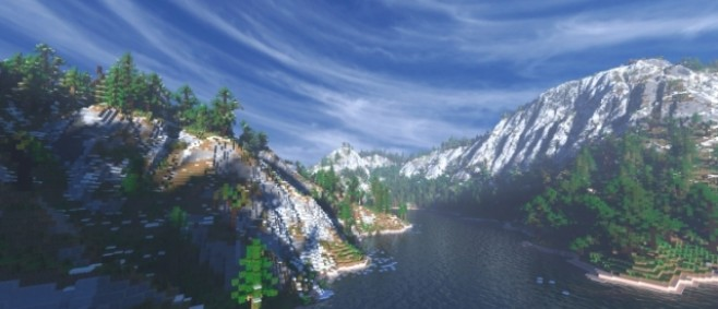 Popular Project : Twin Fjords - 2Kx2K Map [Default Textures] by Dwarfsosi