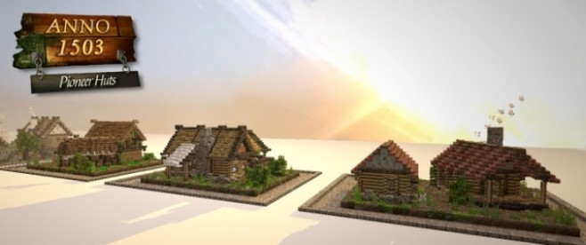 Popular Project : Anno 1503 - Pioneer Huts by fov360