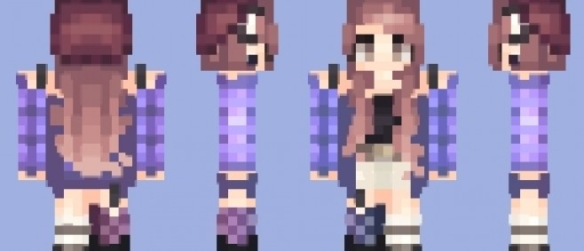 Popular Skin : Purple P!Lad // 100 Subbies so I'm doing a raffle I guess? - Poppyreel!! by FadingDarkness_