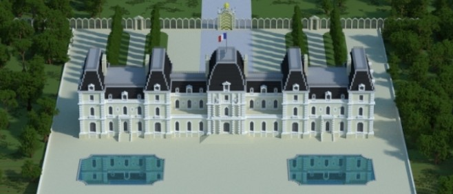 Popular Project : Château des frères Pereire by Kovalle