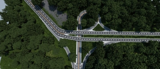 Popular Project : Realistic Trumpet Interchange | Republic of Union Islands by IG-FredMcWaffe