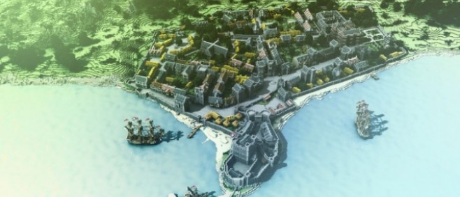 Popular Project : 17th Century Carrickfergus by Mouldy_Burrito