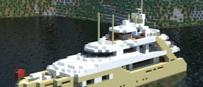 Popular Project : Alexandar V Luxury Yacht by Luxaholic