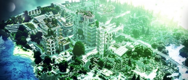 Popular Project : Greenpeakcity - A green future by Lord_Keks