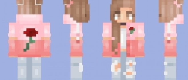 Popular Skin : Rose + 2 Versions | 1,000 ♡ by Foxx