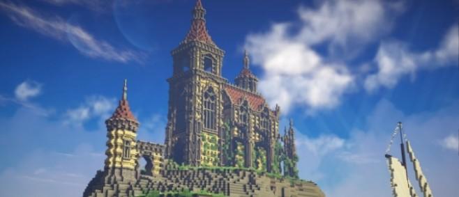 Popular Project : Beaudegard Island - A fantasy church by DanyWood