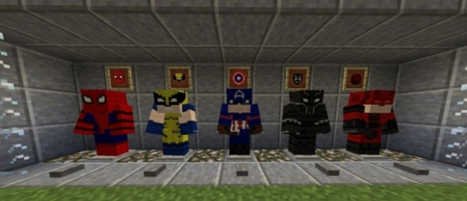 Popular Texture Pack : Marvel Mission Resource Pack by Fercho