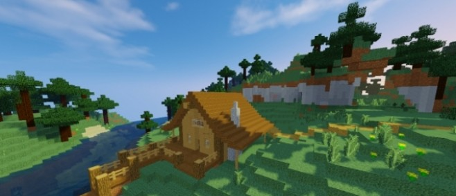 Popular Texture Pack : Natural Textures | Natural Terrain and Items by _LetsPlayMC_