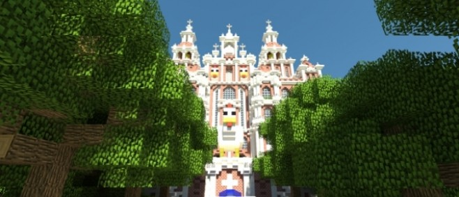Popular Project : The Great Chicken Cathedral by axianerve