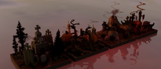 Popular Project : 4 Spooky and Clean KOTH PVP Maps by carlosmith