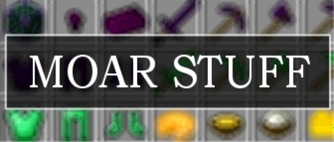 Popular Mod : MOAR STUFF[1.10.2] by Leomelonseeds