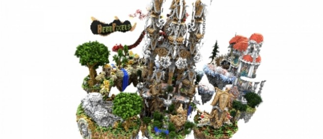 Popular Project : 100 SUBS SkyPvP Map | +DOWNLOAD by HeroPixels