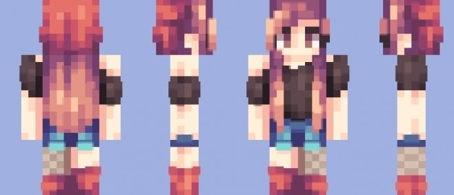 Popular Skin : Raffle // another revamp by Kheise