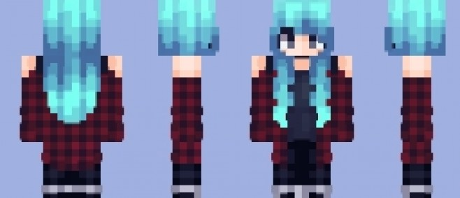 Popular Skin : super old skin because im too lazy to make another uvu by Aobi