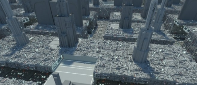 Popular Project : Coruscant - Star Wars by artathecanadian