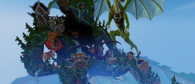 Popular Project : Dragon's Sanctuary by Akagodai