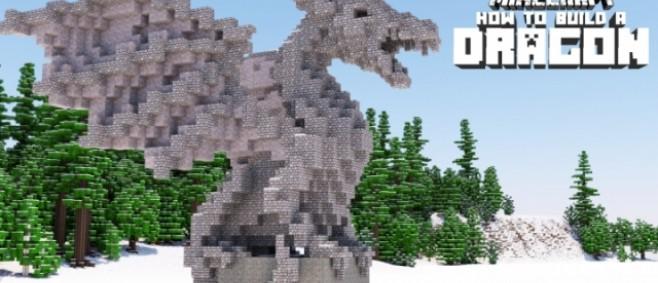Popular Project : Dragon Statue Tutorial (Advanced) by Trixy Blox