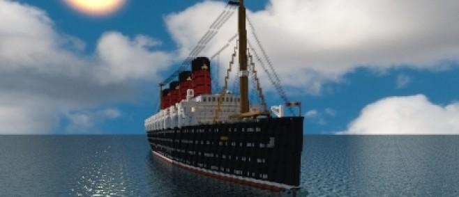 Popular Project : RMS Mauretania 2017 by Dooku200