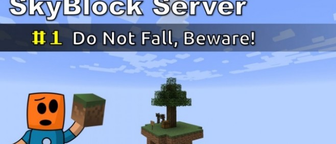 Popular Blog Post : Minecraft Skyblock Server | Do Not Fall, Beware #1 by aamche