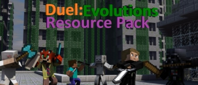 Popular Texture Pack : Duel: Evolutions Resource Pack by The Fox Nation