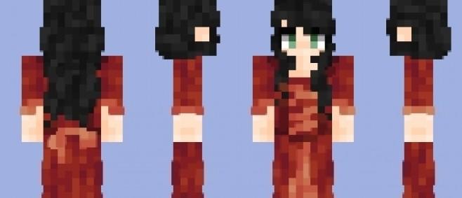 Popular Skin : Crimson Gown by Hearth_