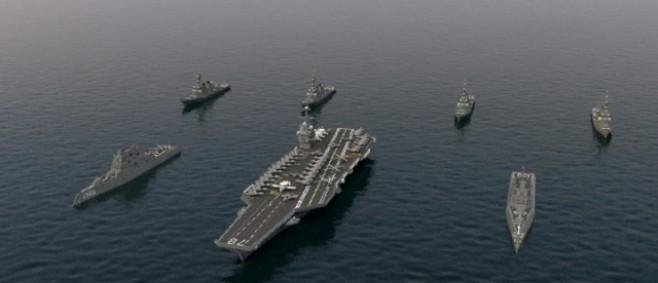 Popular Project : USS Carrier Battle Group by _NamSek_