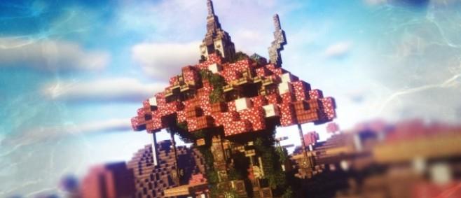 Popular Project : #WeAreConquest - Fantasy Mushroom House by Dukonred1