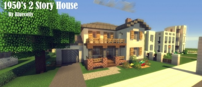 Popular Project : 1950's 2 Story House- Greenfield Project by Bluecolty