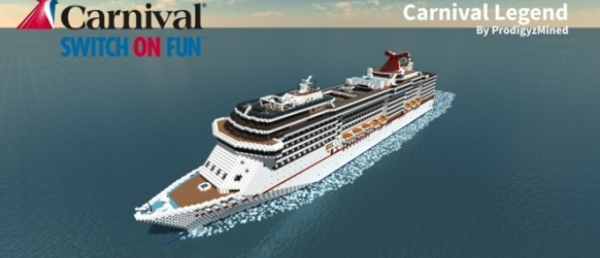 Popular Project : Carnival Legend 1:1 Scale Cruise Ship by ProdigyzMined