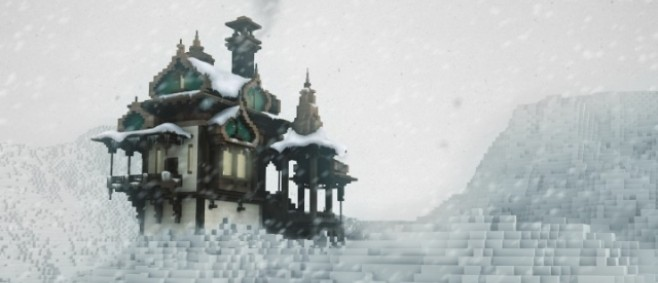 Popular Project : Russian Mountain Cottage (+ showcase tour) by meafcraft