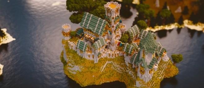 Popular Project : Aventurin Castle || Palandria [Cinematic] +Download by PalandriaMC