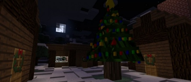 Popular Mod : Decoratable Christmas Trees Mod With Model Trains by Zenith08