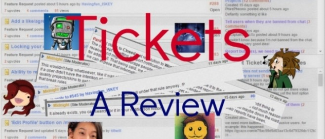 Popular Blog : Tickets: A Review by Havingfun_ISKEY