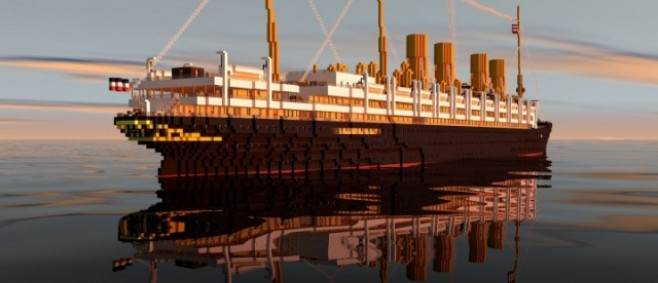 Popular Project : SS Kronprinzessin Cecilie by CreeperCraftCity