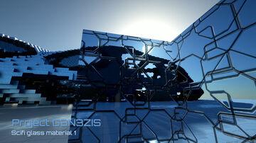 HD 2k texture pack G3N3ZIS - scifi glass material Minecraft Blog