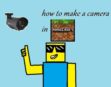 How to make a cctv camera in minecraft {no mods!!} Minecraft Blog