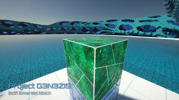 2k Minecraft HD texture pack - G3N3ZIS. Scifi Emerald block Minecraft Blog