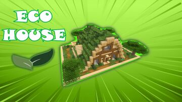 Awesome ECO HOUSE in Minecraft (Easy Tutorial) Minecraft Blog